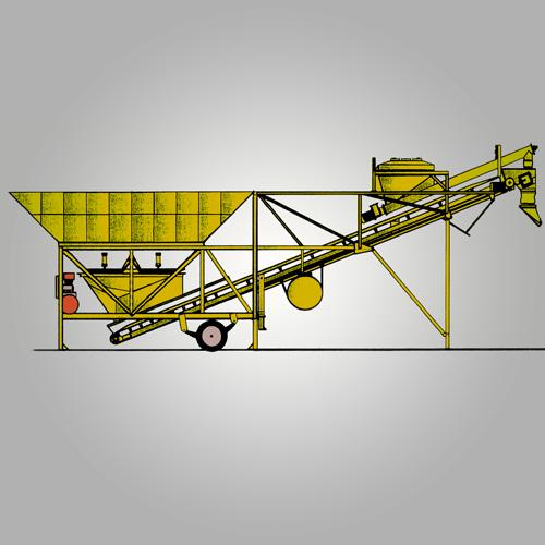 Planta dosificadora transportable PT-60LN
