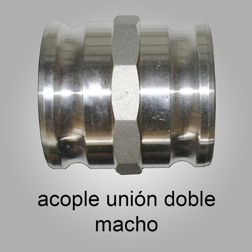 Acople rápido de aluminio